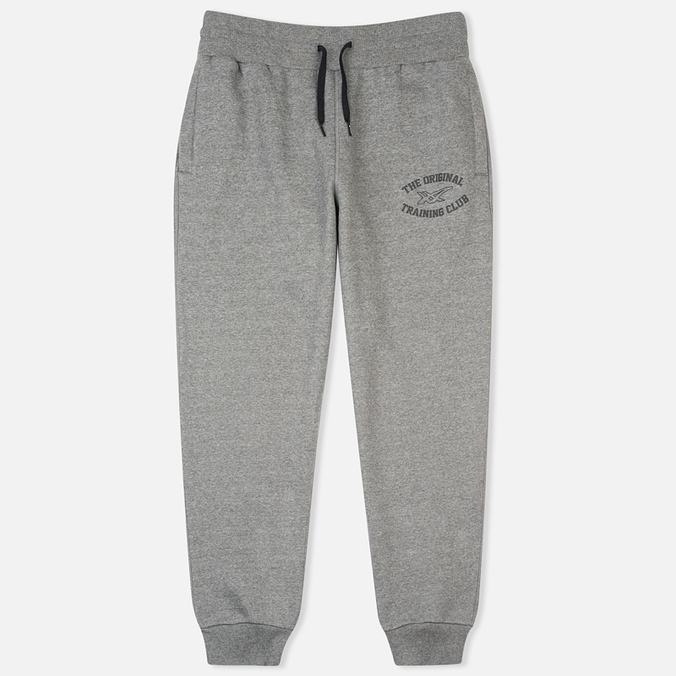 ASICS Graphic Brushed Cuffed Men`s Trousers Grey