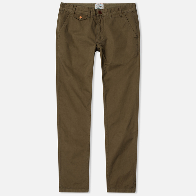Мужские брюки Barbour Neuston Twill Willow Green