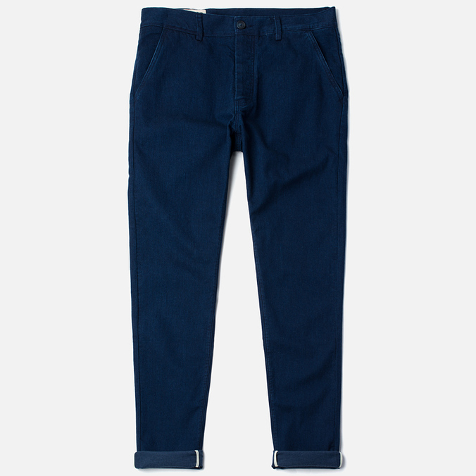 Мужские брюки Bleu De Paname Civile Denim 10 Oz Indigo