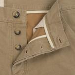 Мужские брюки Bleu De Paname Civile Yor Denim 13 Oz Mastic фото- 1