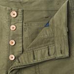 Мужские брюки Bleu De Paname Fatigue Khaki фото- 1