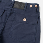 Мужские брюки Bleu De Paname Fatigue Marine фото- 3