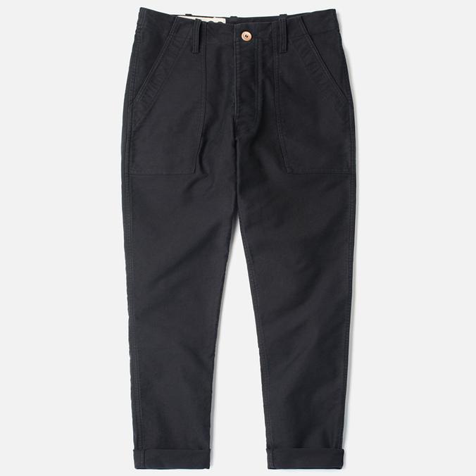Bleu De Paname Fatigue Trousers Noir Charbon