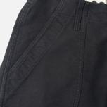 Bleu De Paname Fatigue Trousers Noir Charbon photo- 2