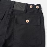 Bleu De Paname Fatigue Trousers Noir Charbon photo- 3