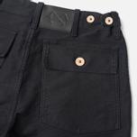 Мужские брюки Bleu De Paname Fatigue Noir Charbon фото- 3