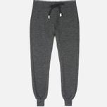 Мужские брюки Bleu De Paname Knit Milano Anthracite фото- 0