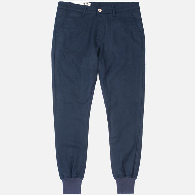 Мужские брюки Bleu De Paname Loisir Laine Marine