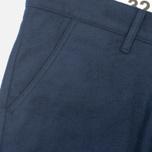 Мужские брюки Bleu De Paname Loisir Laine Marine фото- 2