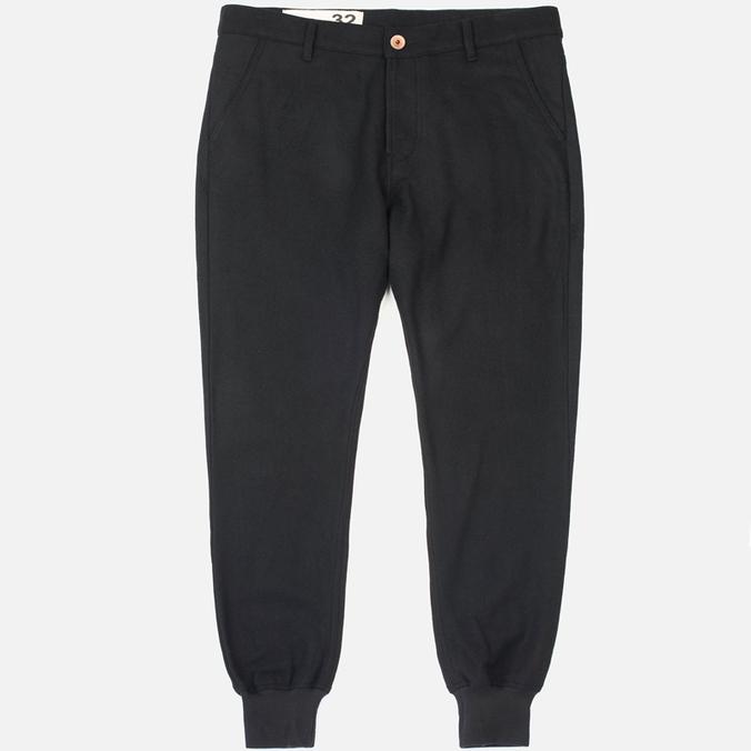 Bleu De Paname Loisir Trousers Laine Noir