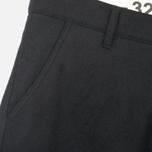 Мужские брюки Bleu De Paname Loisir Laine Noir фото- 2