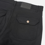 Мужские брюки Bleu De Paname Loisir Laine Noir фото- 3