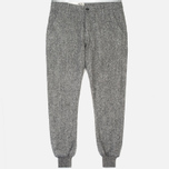 Bleu De Paname Loisir Tweed Trousers Anthracite photo- 0