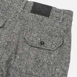 Bleu De Paname Loisir Tweed Trousers Anthracite photo- 3