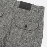 Мужские брюки Bleu De Paname Loisir Tweed Anthracite фото- 3