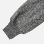 Bleu De Paname Loisir Tweed Trousers Anthracite photo- 4