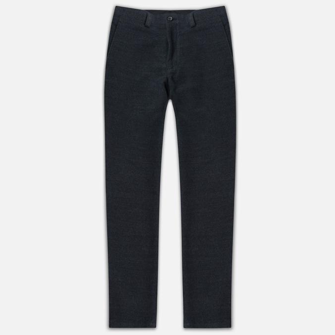 Мужские брюки Blue Blue Japan J5421 Hairly Fleece Ankle Line Grey