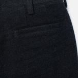 Мужские брюки Blue Blue Japan J5421 Hairly Fleece Ankle Line Grey фото- 3