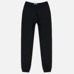 Мужские брюки Blue Blue Japan J5446 Crepe Sweat Rib Hem Black фото- 0