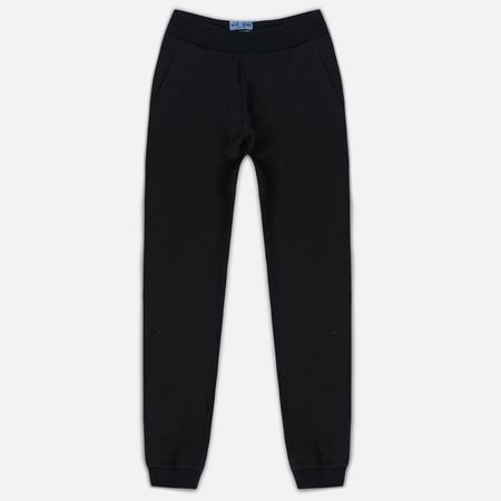 Мужские брюки Blue Blue Japan J5446 Crepe Sweat Rib Hem Black