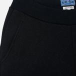 Мужские брюки Blue Blue Japan J5446 Crepe Sweat Rib Hem Black фото- 1