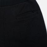 Мужские брюки Blue Blue Japan J5446 Crepe Sweat Rib Hem Black фото- 2