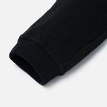 Мужские брюки Blue Blue Japan J5446 Crepe Sweat Rib Hem Black фото- 3
