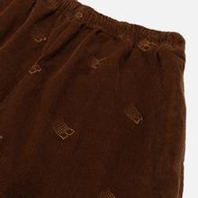 Мужские брюки Bronze 56K All Over Embroidered Corduroy Brown фото- 1
