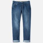 Мужские джинсы C.P. Company 5 Pocket Slim Fit Indigo фото- 0