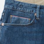 Мужские джинсы C.P. Company 5 Pocket Slim Fit Indigo фото- 1