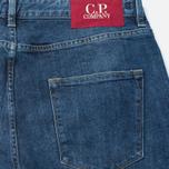 Мужские джинсы C.P. Company 5 Pocket Slim Fit Indigo фото- 3