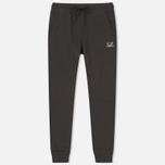 Мужские брюки C.P. Company Diagonal Fleece Jogging Dark Fog Grey фото- 0