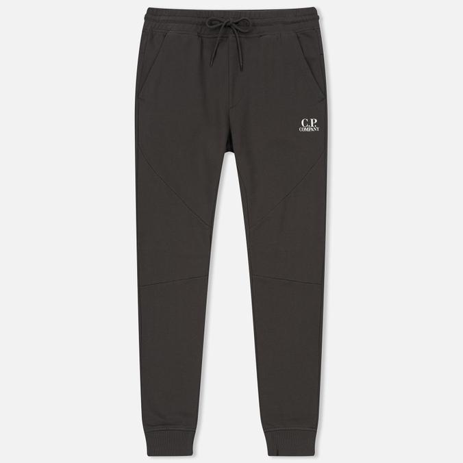 Мужские брюки C.P. Company Diagonal Fleece Jogging Dark Fog Grey