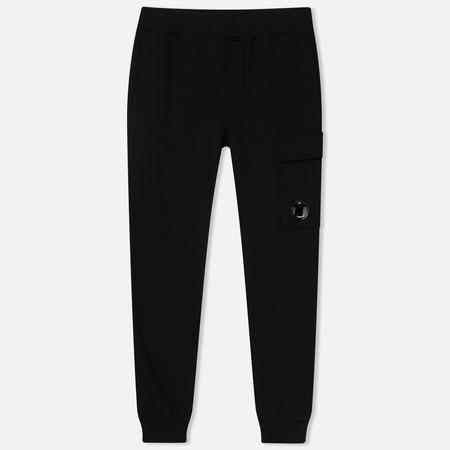 Мужские брюки C.P. Company Diagonal Fleece Lens Jogging Caviar
