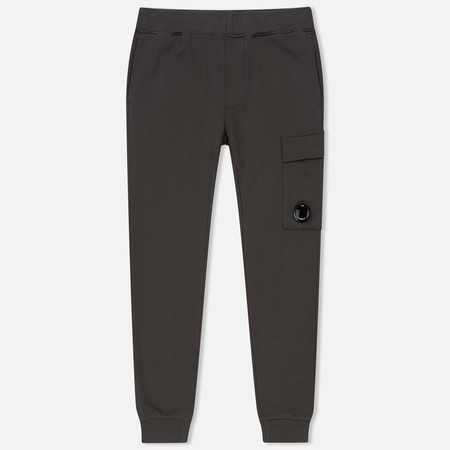 Мужские брюки C.P. Company Diagonal Fleece Lens Jogging Dark Fog Grey