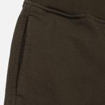 Мужские брюки C.P. Company Diagonal Fleece Lens Jogging Moss фото- 2