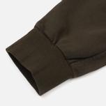 Мужские брюки C.P. Company Diagonal Fleece Lens Jogging Moss фото- 4