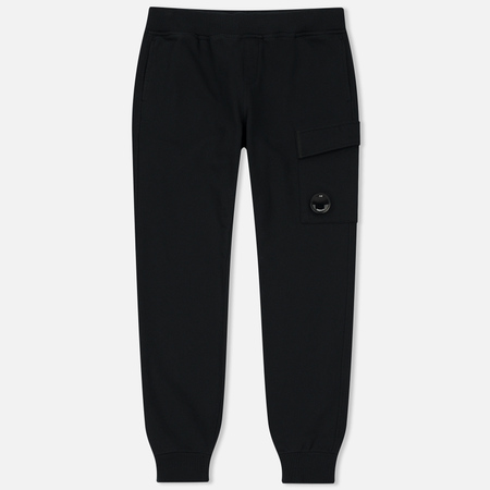 Мужские брюки C.P. Company Diagonal Fleece Lens Jogging Total Eclipse