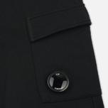 Мужские брюки C.P. Company Diagonal Fleece Lens Jogging Total Eclipse фото- 2