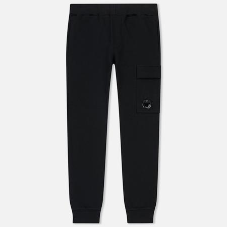 Мужские брюки C.P. Company Diagonal Fleece Lens Pocket Black