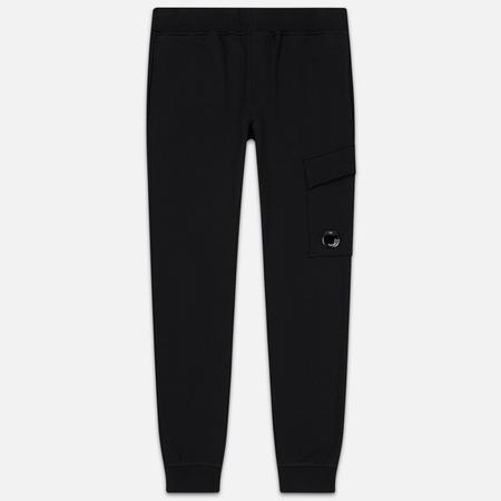 Мужские брюки C.P. Company Diagonal Raised Fleece Lens Black