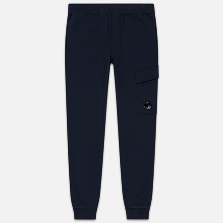 Мужские брюки C.P. Company Diagonal Raised Fleece Lens Total Eclipse