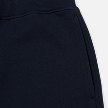 Мужские брюки C.P. Company Diagonal Raised Fleece Lens Total Eclipse фото- 1