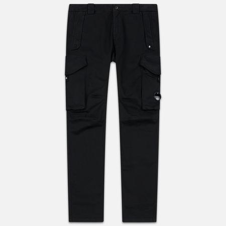 Мужские брюки C.P. Company Garment Dyed Sateen Lens Cargo Black