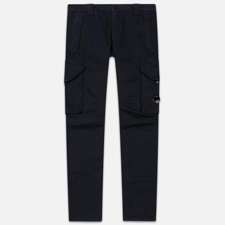 Мужские брюки C.P. Company Garment Dyed Sateen Lens Cargo Total Eclipse