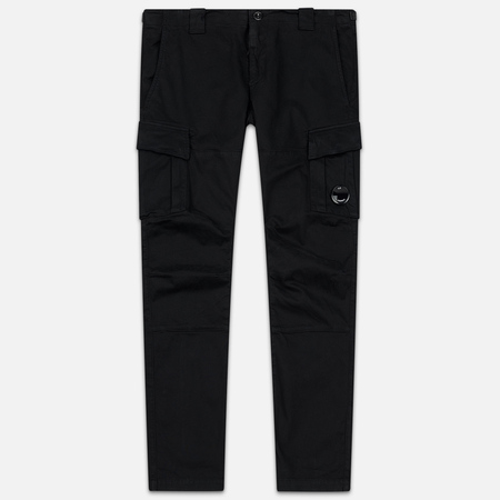 Мужские брюки C.P. Company Garment Dyed Sateen Lens Pocket Black