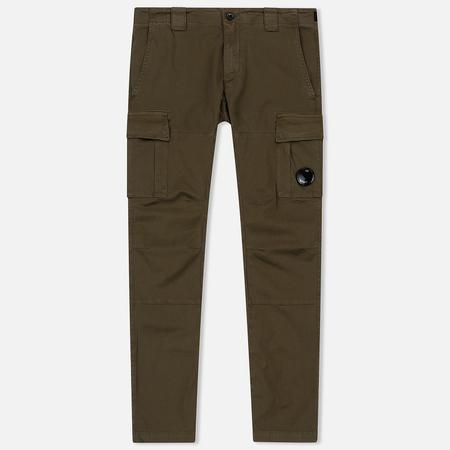 Мужские брюки C.P. Company Garment Dyed Stretch Gabardine Cargo Lens Beech
