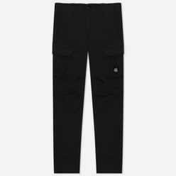 Мужские брюки C.P. Company Garment Dyed Stretch Sateen Lens Pocket Black