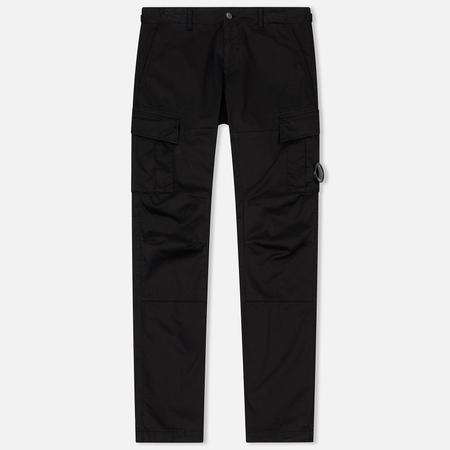 Мужские брюки C.P. Company GD Stretch Sateen Lens Cargo Caviar Black