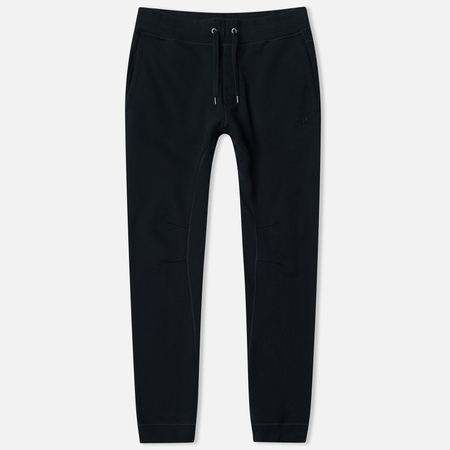 C.P. Company Heavy Weight Cotton Fleece Men's Trousers Black